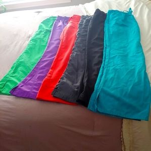 Scrub pants lot size medium